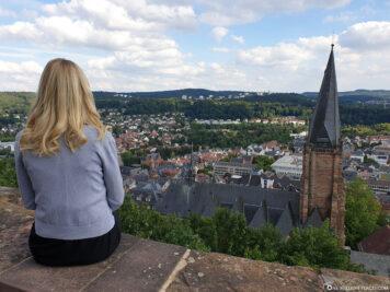Ausblick vom Schloss