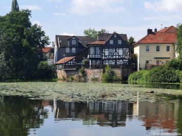 Grüne Mühle an der Lahn