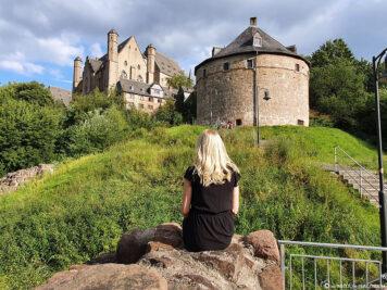 Hexenturm und Landgrafenschloss