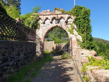 Aufgang zur Mildenburg