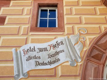 The oldest inn in Germany