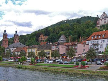 Das Mainufer in Miltenberg
