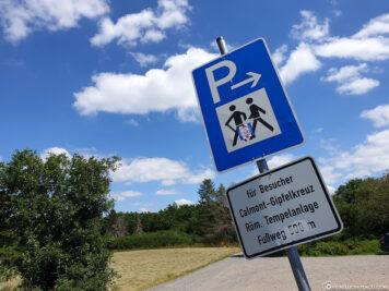 Parkplatz Calmont Moselschleife