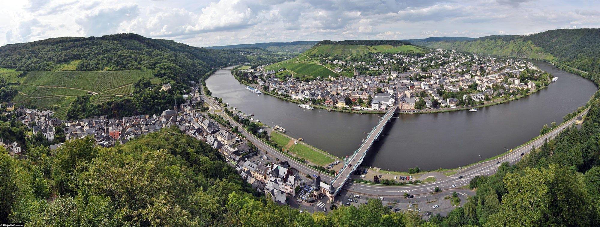 Traben-Trabach, Mosel, Panoramabild, Deutschland, Reisebericht