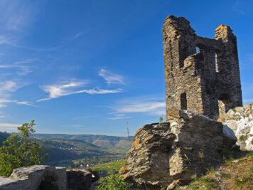 The ruins of the Grevenburg
