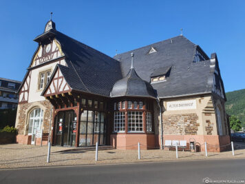 The old station building