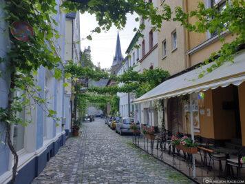 The cozy alleys