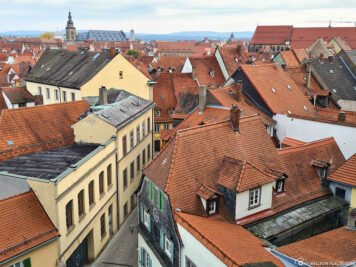 View of the old town of Bamberg
