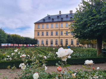 The Rose Garden at the New Residence