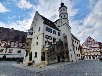 Rathaus der Stadt Nördlingen
