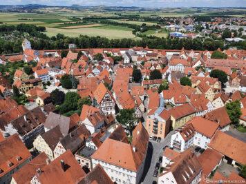 Die Altstadt von Nördlingen