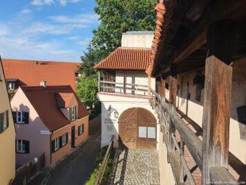 Die mittelalterliche Stadtmauer