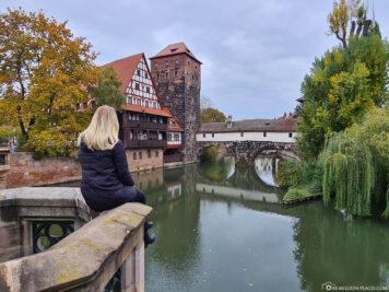 Blick von der Maxbrücke