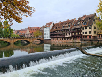 Die Pegnitz in Nürnberg