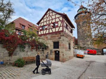 Auf der Kaiserburg in Nürnberg