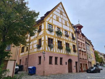 Fachwerkhaus in der Weißgerbergasse