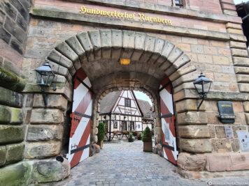 Eingang zum Handwerkerhof