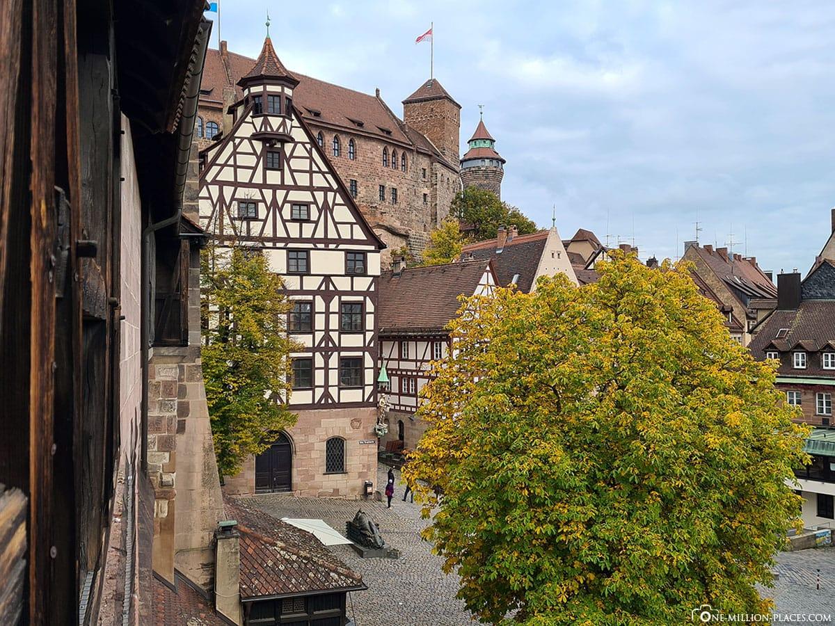 Schönster Blick, Nürnberg, Sehenswürdigkeiten, Tiergärtnertor, Altstadt, Kaiserburg, Reisebericht