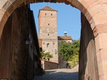 Die Stadtmauer in Nürnberg