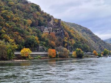 Das Romantik-Schloß Burg Rheinstein