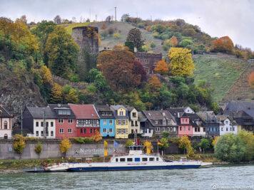 Die Heimburg in Niederheimbach