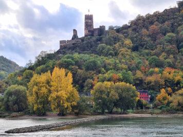 Die Ruine der Burg Fürstenberg