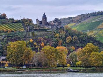 Die Burg Stahleck Bacharach