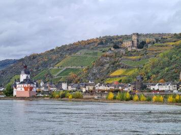 Der Rhein bei Kaub