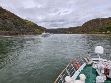 Mit der A-ROSA auf dem Rhein