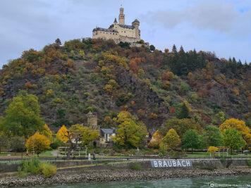 Die Marksburg in Braubach