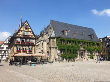 The town hall on the market square