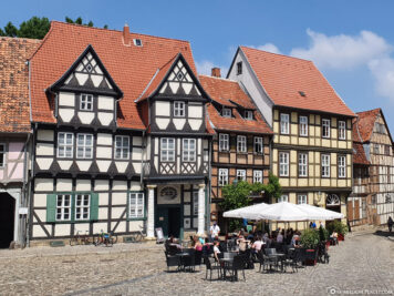 Schlossplatz mit Klopstockhaus