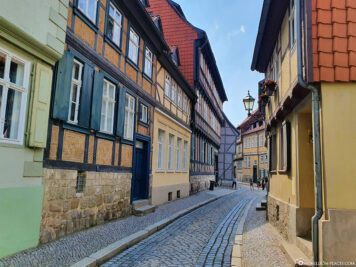 Streets in Quedlinburg