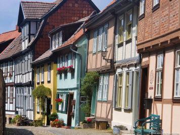 Farbenfrohe Fachwerkhäuser