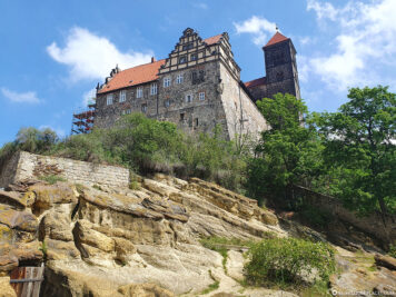 View up to Schlossberg