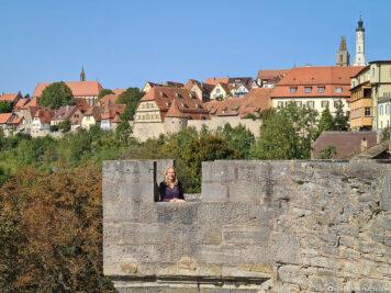 Observation platform at the Kobolzell ertower