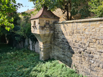 The city wall