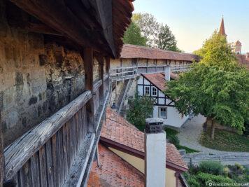 Walk on Rothenburg's city wall
