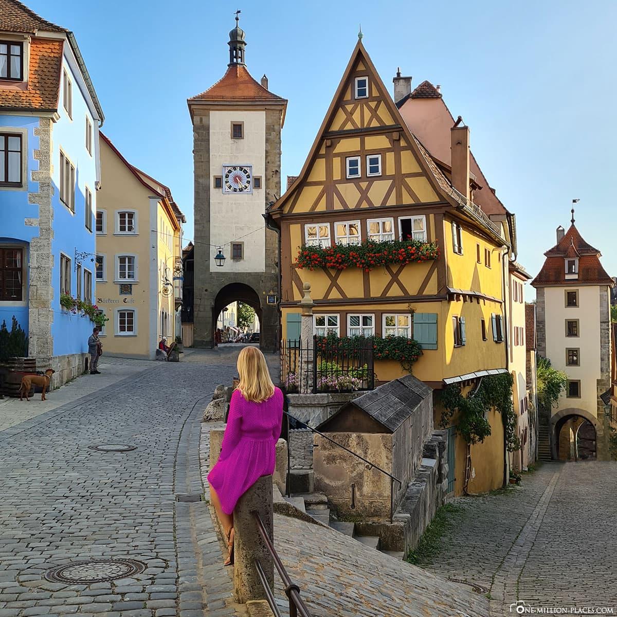 Plönlein, Rothenburg ob der Tauber, landmarks, sights, travelogue, Bavaria, Germany, blog