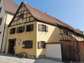 Old Rothenburg Craftsman's House