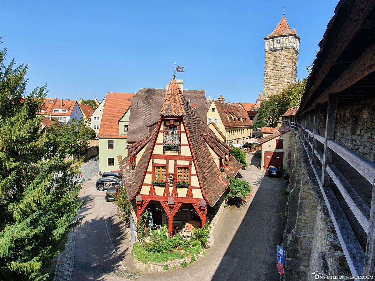 Gerlachschmiede, Rothenburg ob der Tauber, Sights, City Wall, Travelreport, On Your Own, Blog