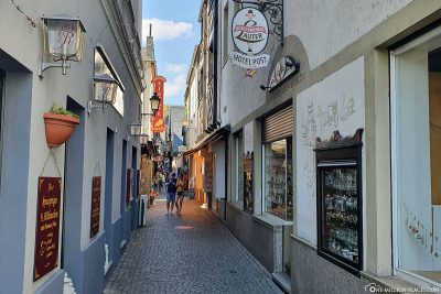 The Drosselgasse in Rüdesheim