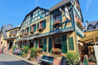 Half-timbered house in Rüdesheim