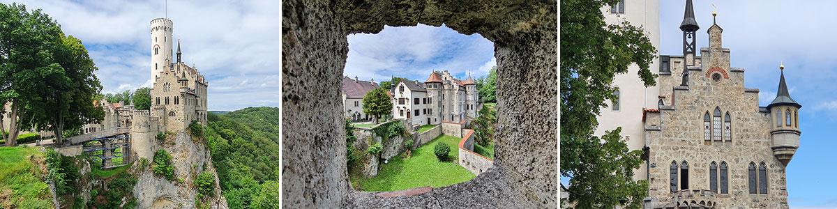 Schloss Lichtenstein Märchenschloss Headerbild