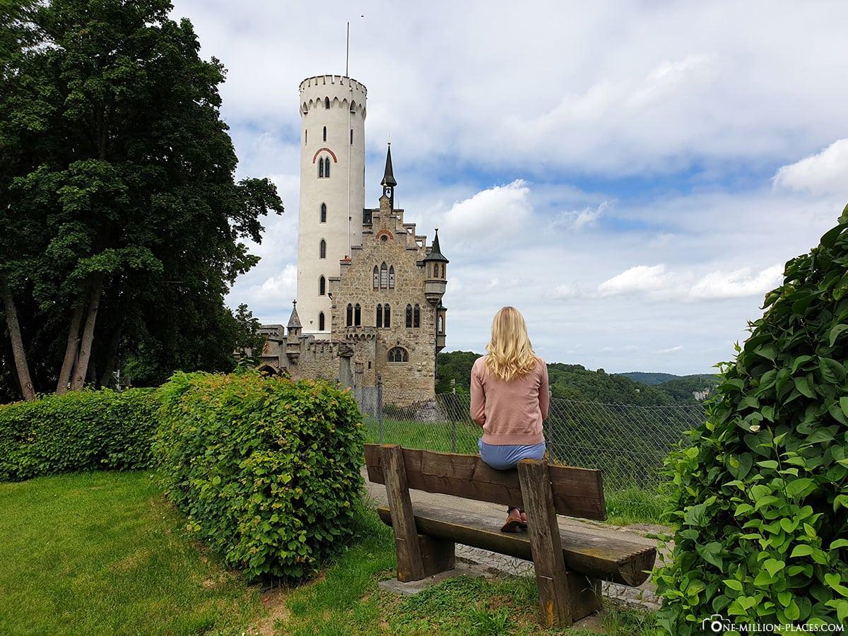 Schloss Lichtenstein, Märchenschloss, Baden Württemberg, Honau, Deutschland, Tagesausflug, Reisebericht, Blog
