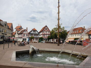 Fountain at the Market Square