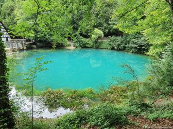The Blue Pot in Blaubeuren