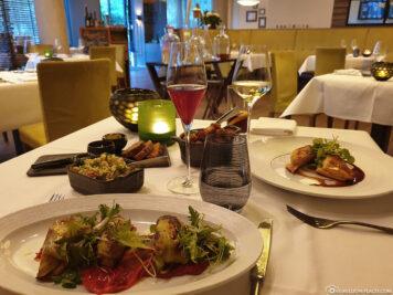 Essen im Marburger Esszimmer