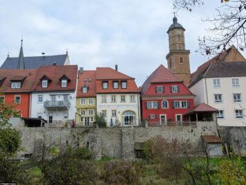 Überreste der alten Stadtmauer