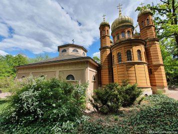Prince's Tomb &  Russian Orthodox Church